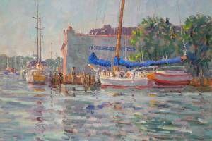Skipjack Kathryn Docked in Annapolis, 18sx