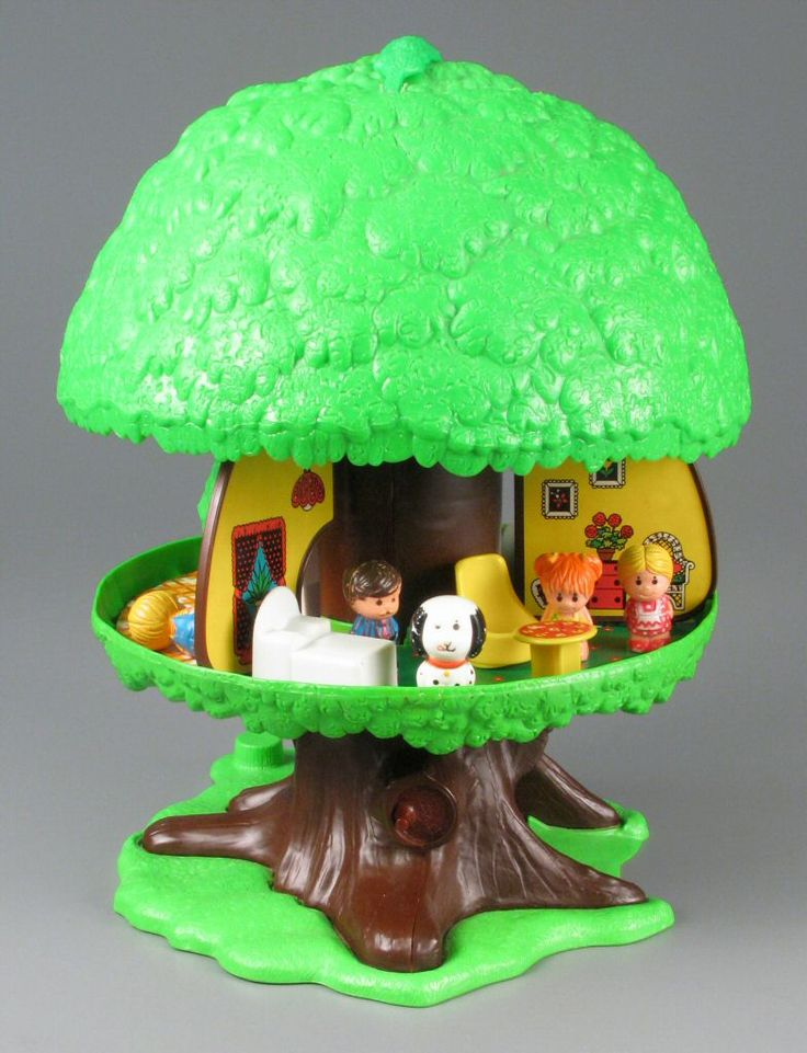 Family Tree House I Had This EXACT Toy As A Child Its One Of Childhood MemoriesChildhood ToysRetro