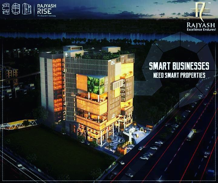 Smart businesses need smart properties !  #RajYashRise #Shops #Showrooms #Offices #Ahmedabad  #realestate
