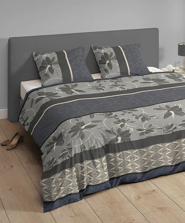 Take a look at this Grey & Blue Mix 'n' Match Kingsize Duvet Set by Descanso on #zulily today! http://www.zulily.co.uk/invite/akennington3