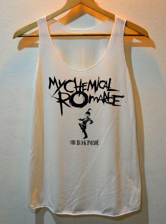MCR My Chemical Romance Pop Rock Shirt Tank Top Vest Ladies Small Large
