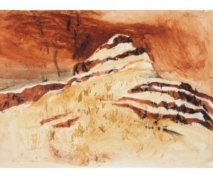 Banded Iron 2014 39X49cm