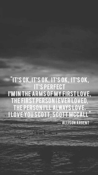 Allison Argent last words...