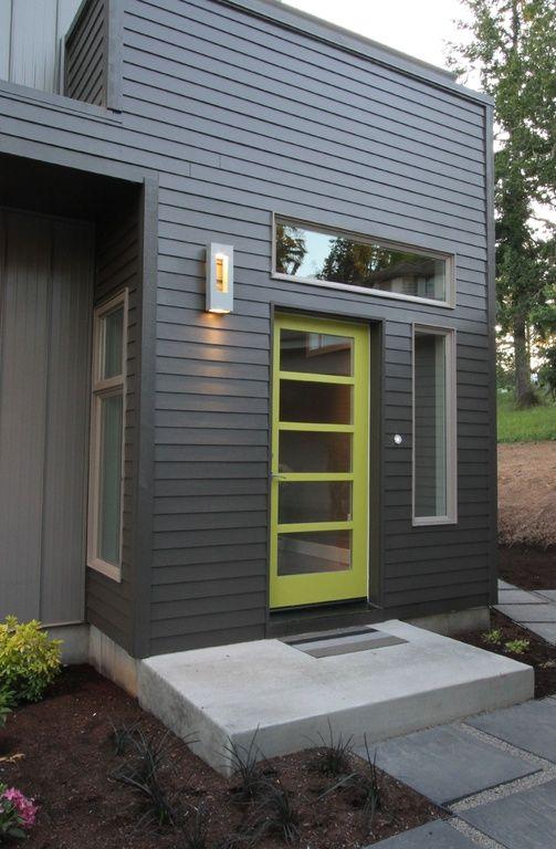 Best 20 modern front door ideas on pinterest modern for Modern front door colors