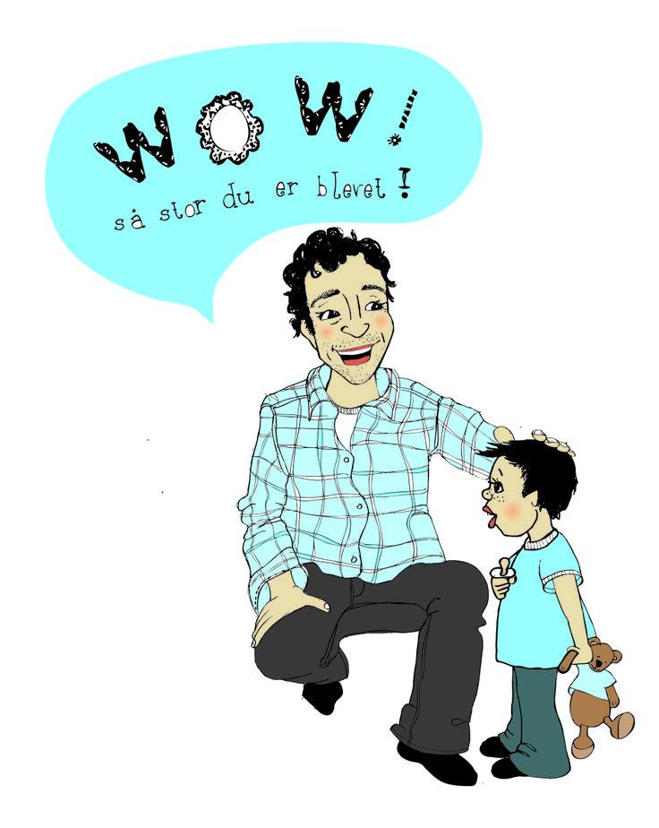 #parenting #illustration #vibekehoie.no