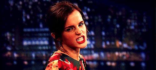 Pin for Later: Emma Watson verzaubert uns auch in der Realität Oder angriffslustig zu sein.