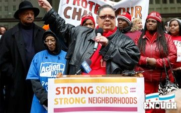 50 Chicago Public Schools to Close. An article on the closing of CPS schools and the strike in response
