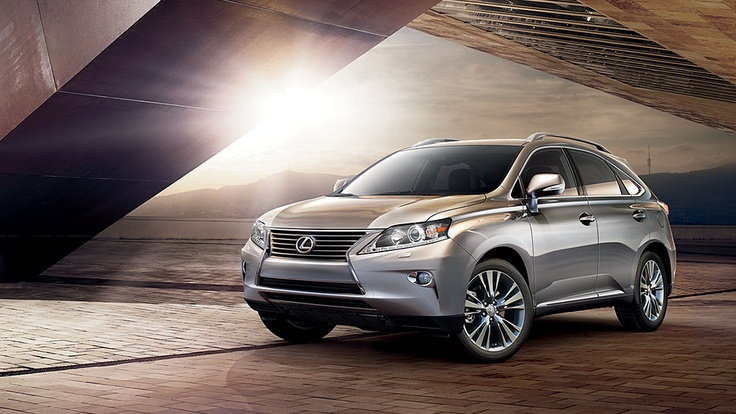 And I call her, Beauty. 2013 Lexus RX 350