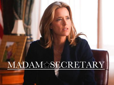 Madam Secretary is my favorite new TV show this season... LOVE Tea Leoni! Excellent cast, brilliant writing. Woot, CBS!