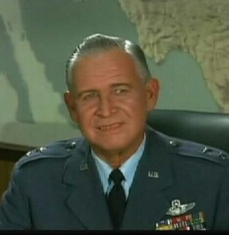 Actor Barton MacLane  played General Peterson on I Dream of Jeannie, (December 25, 1902 - January 1, 1969)