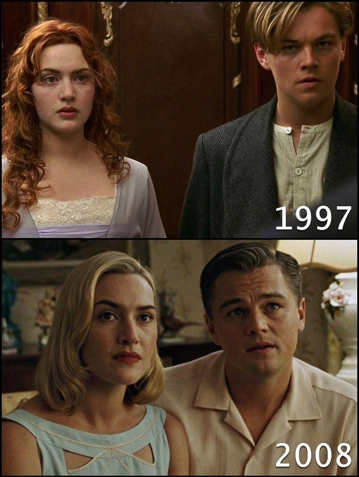 Antes Y Despues In 2020 Titanic Leonardo Dicaprio Leonardo Dicaprio Movies Leonardo Dicaprio Kate Winslet