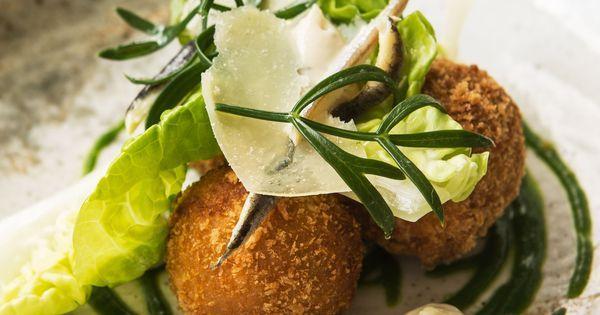 Caesar salad croquettes | Recipe | Caesar salad, Paul welburn and Salads