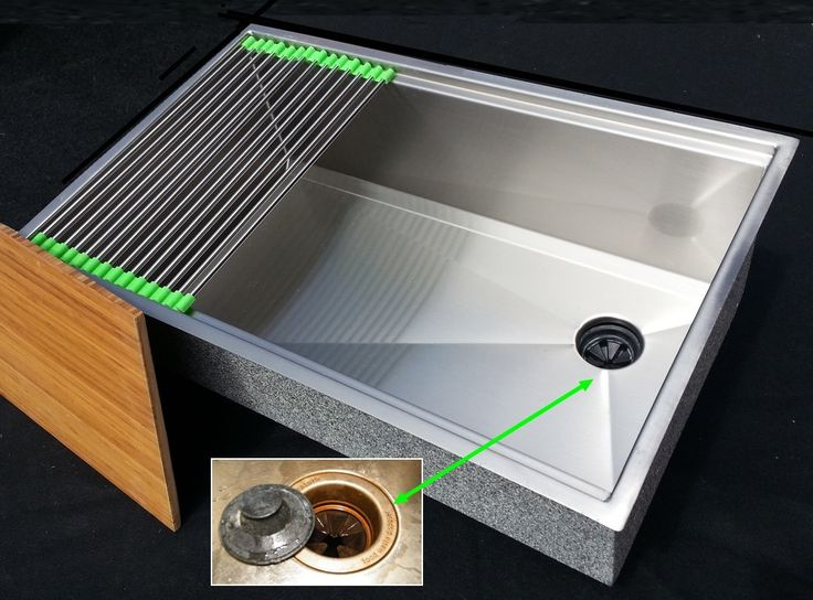UltraClean Ledge Kitchen Sink   Ledges In The Sink Allow For A Cutting Board  To Glide