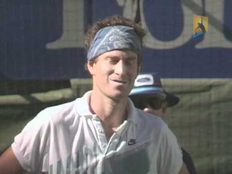 John McEnroe disqualified! 1990 Australian Open - YouTube