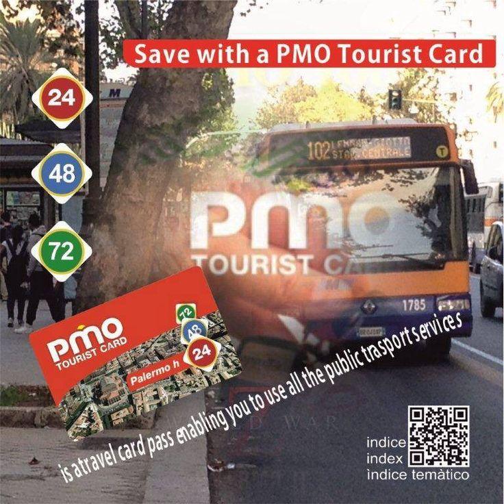 """PMO Card è lo strumento ideale per ottimizzare il vostro soggiorno e visitare Palermo risparmiando tempo e denaro. Essa non è solo una semplice Carta Turistica, ma la vostra vera e propria """"guida di fiducia"""" che vi accompagnerà, piacevolmente e senza intoppi, alla scoperta di quanto di più bello ci sia da godere. La guida è composta dalla CARD che offre una serie di gratuità e/o scontistiche su una vasta gamma di attività locali . Questi potranno essere raggiunti anche attraverso l'ausilio…"""