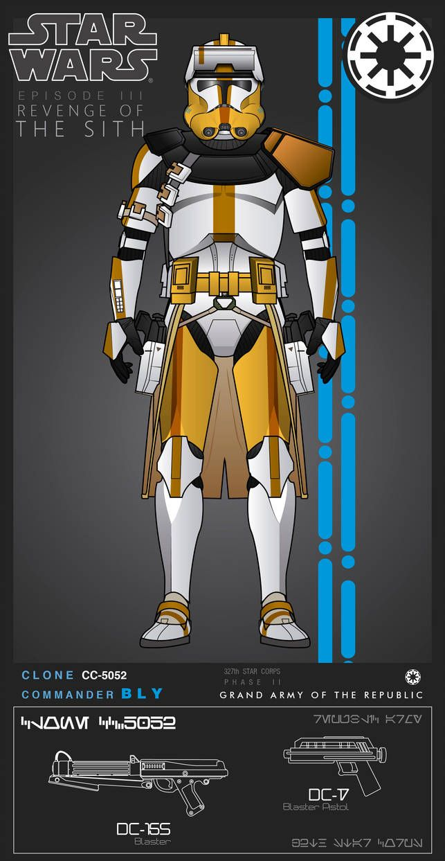 Clone Commander Bly Phase Ii By Efrajoey1 Star Wars Clone Wars Star Wars Rpg Star Wars Pictures