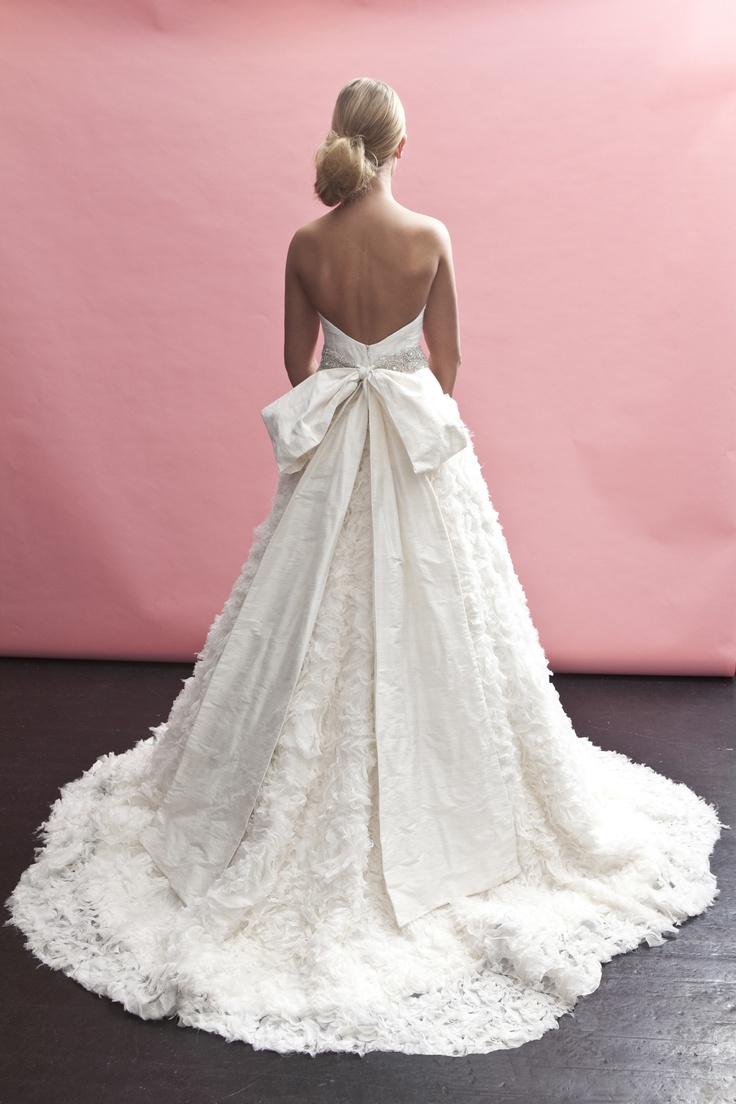 "One of the amazing dresses I Do Bridal Couture has by Heidi Elnora, the ""geneva estelle"" (back)"
