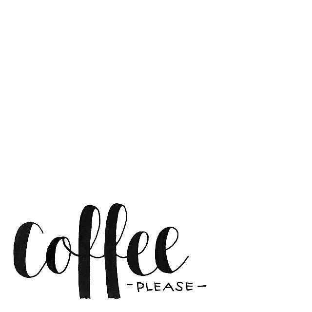 coffee, please
