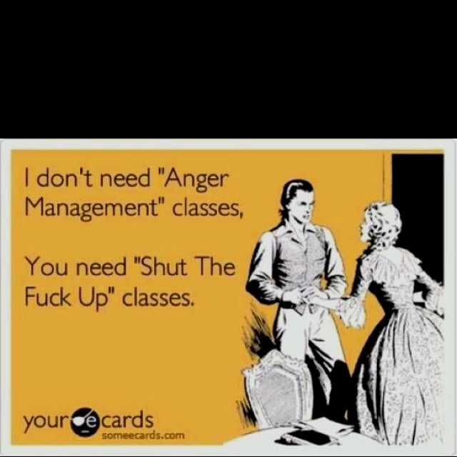 Not angry.... Lmfao!: Business Cards