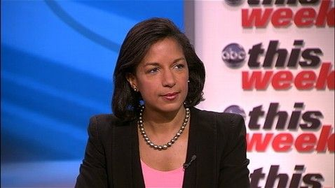 """Ambassador Susan Rice: Libya Attack Not Premeditated! - Does she think we're so dumb that we will take her spin as fact, or is she just hoping we are. So a few peaceful souls just happened to pick 9/11 to protest a cheap, trashy YouTube flick; and as they passed, a few extremist types decided to come along with the heavy weapons just to add spice to the effort, and things just got out of hand. And these same folk just happened to also find the """"SECRET"""" safe house, so they could mortar it."""