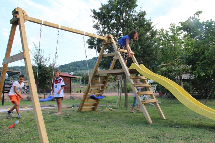 From the Guest - Playground area of the Farmhouse in the Tuscan countryside around Chianni, in the Pisa's area.