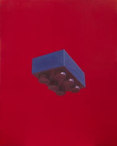 "Saatchi Art Artist sebastian sleczka; Painting, ""Brick II"" #art"