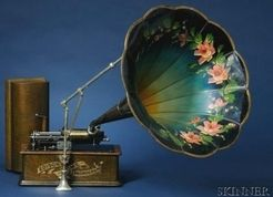 music, New Jersey, An Edison Home Phonograph, Model A, with Model C ...