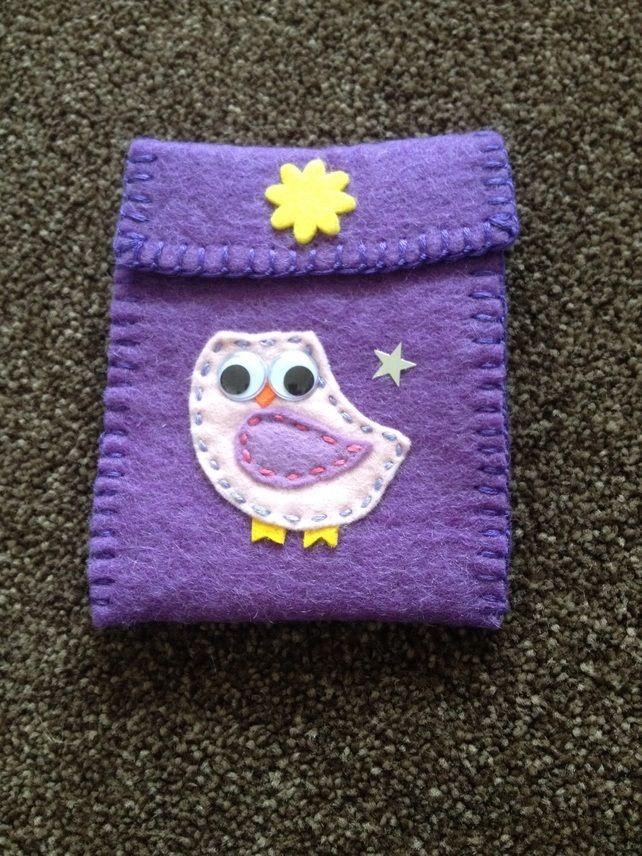Handmade felt purse (380)