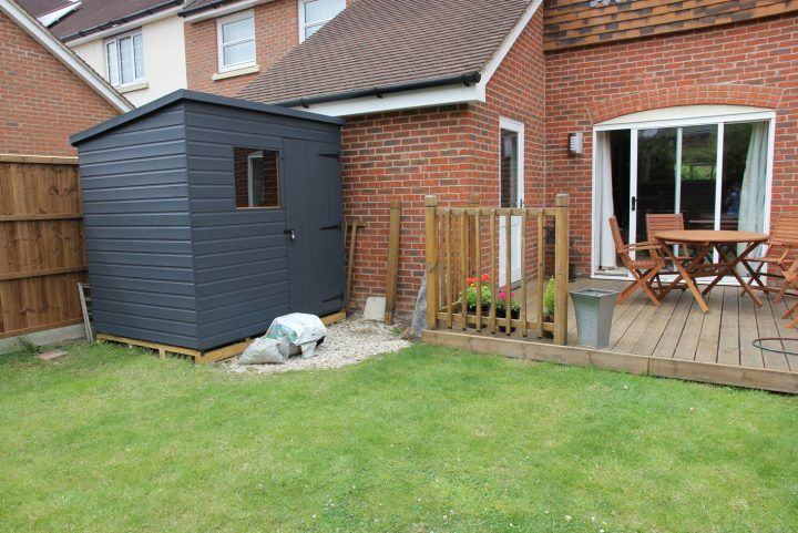 Painted Garden Shed Colour