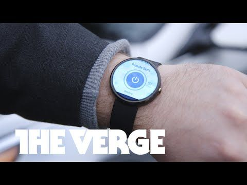 Hyundai's BlueLink smartwatch app for Android Wear