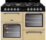 LEISURE Cookmaster CK100G232C 100 cm Gas Range Cooker - Cream & Chrome