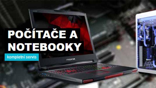 Servis počítačů a notebooků