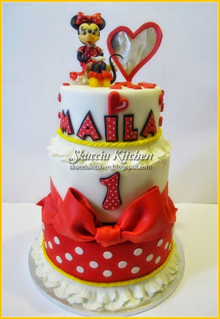 SKACCIA KITCHEN: Minnie Cake