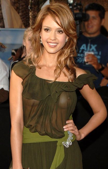 Jessica Alba See Through Dress Idols Pinterest