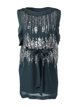 Blingbling... evening dress by French Connection.. really like it!:)