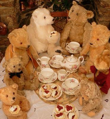 teddy bear tea society...