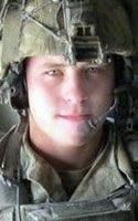Army SSG Jeremy A. Katzenberger, 26, of Weatherby Lake, Missouri. Died June 14, 2011, serving during Operation Enduring Freedom. Assigned to 1st Battalion, 75th Ranger Regiment, Hunter Army Airfield, Georgia. Died of wounds sustained when hit by enemy small-arms fire during combat operations in Sharana, Paktika Province, Afghanistan.