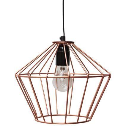 Hanglamp Monaco Koper   Praxis