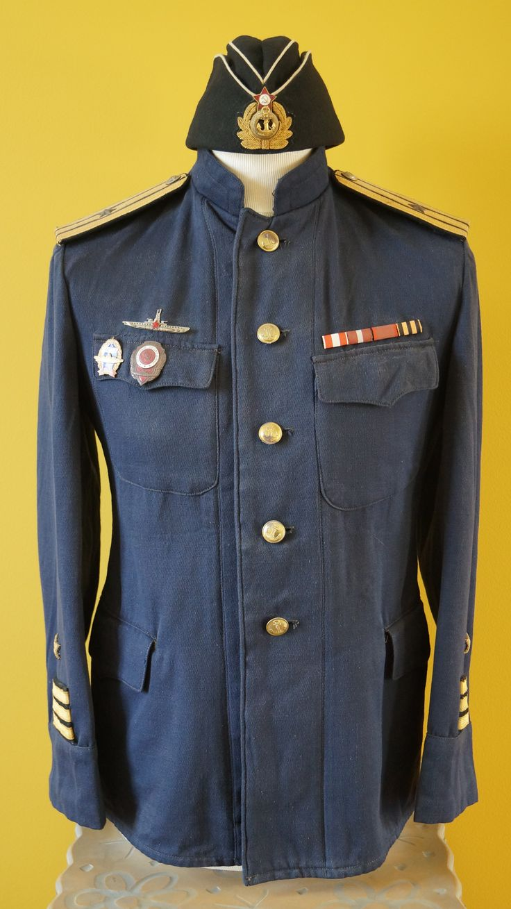 My WW2 Soviet submarine commander everyday uniform circa 40s/50s.