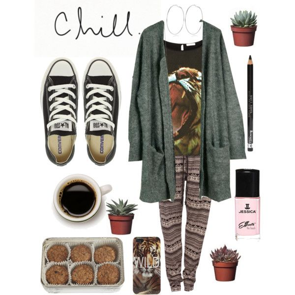 """""""Chill Outfit"""" by amproudofselena on Polyvore"""
