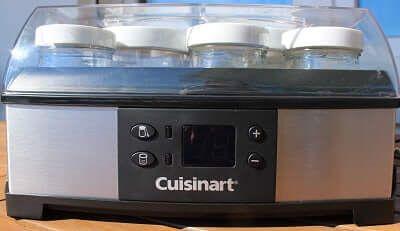 Cuisinart  Frischkäse,- und Joghurtbereiter Test... Damit kannst Du nicht nur Joghurt selber machen, sondern auch noch Quark und Frischkäse. Funktioniert super, ich habs selber ausprobiert...