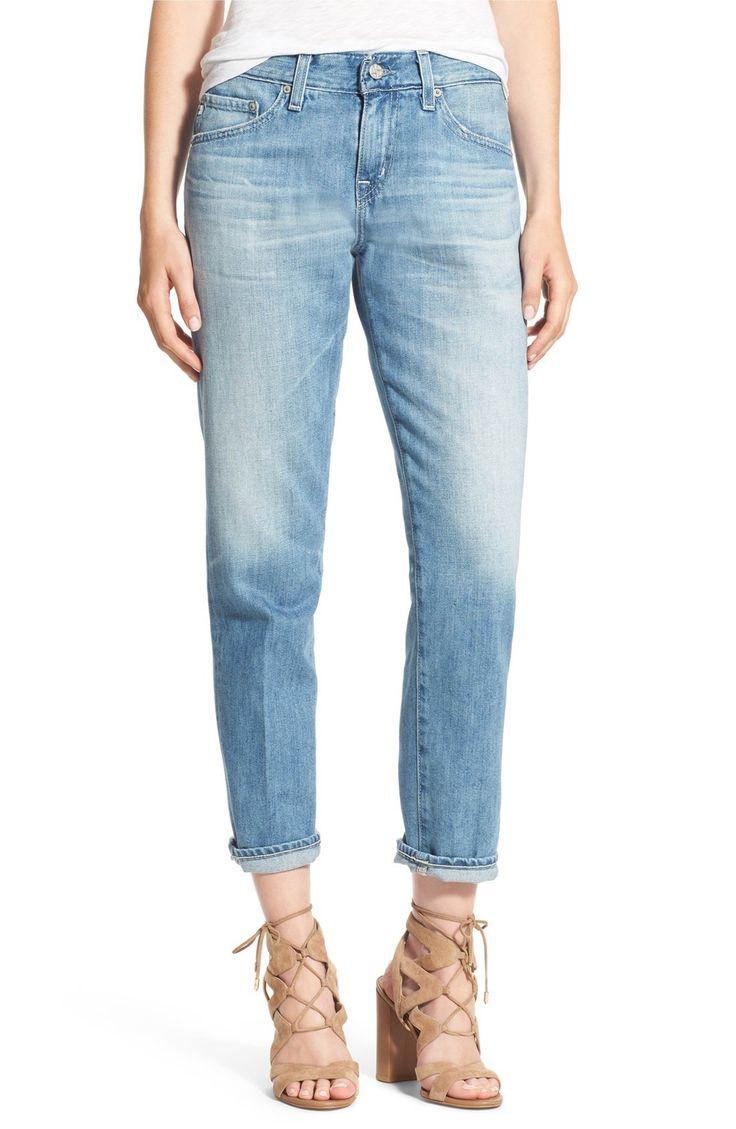 Main Image - AG 'Ex-Boyfriend' Slim Jeans (21 Years Summer Edge)