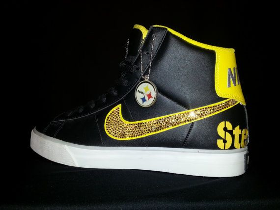 Go Shop Football Team Steelers Sneaker Running Shoes Sneakers for Wowen and Men