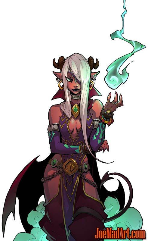 Battle Chasers NightWar master enchanter in game art – Character Design and Concepts