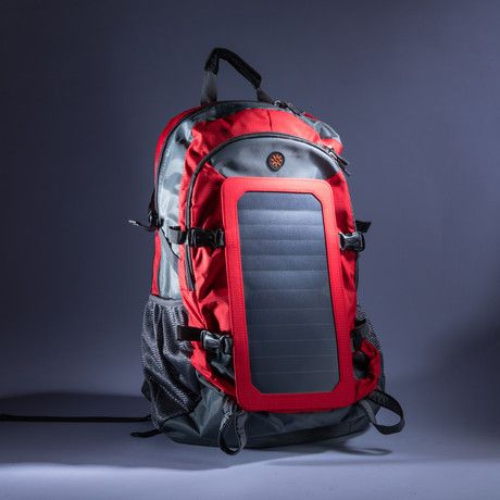 The SOLZbag Weekender is perfect for days on the beach, picnics, hikes, or even just running around town. Making sure that your electronic essentials are charged at all times, this powerful backpack ensures that you'll never get frustrated while o...