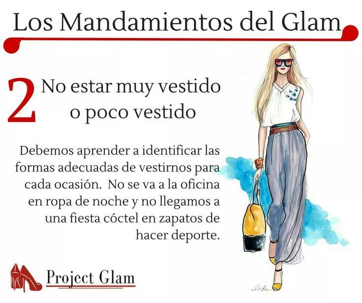#moda #mandamientos #glam #dos