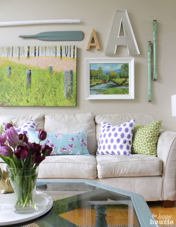 """33 Cheerful Summer Living Room Décor Ideas: 1000+ Images About """" French Country Farmhouse """" On"""