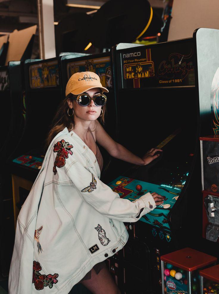 #losangeles #hat #california #editorial #arcaderoom