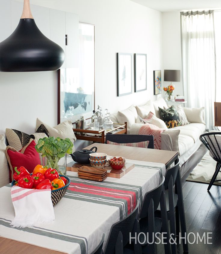 Get The Secret To A Stylish Small Space. Small Condo LivingLiving ... Part 60