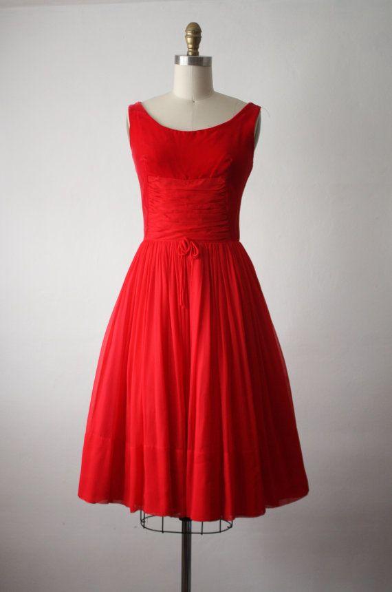 1000  ideas about Red Chiffon Dresses on Pinterest - Elegant ...